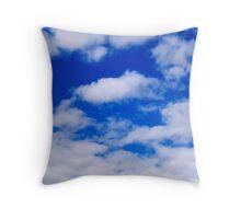 Pajama clouds Throw Pillow