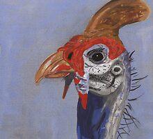 Guineafowl by Krokokaro