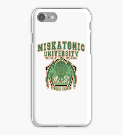 Miskatonic University iPhone Case/Skin