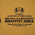 Designated Graffiti Area by Prezlez