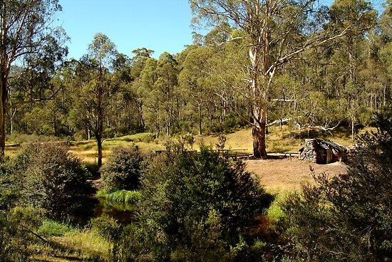 Bindaree Hut,Victorian High Country by Joe Mortelliti