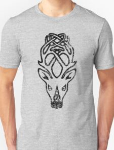 Skyrim Distressed Falkreath Logo B&W T-Shirt