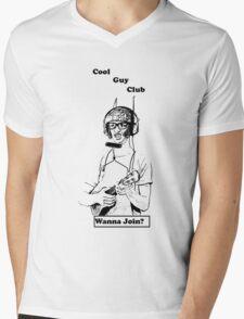Cool Guy Club Mens V-Neck T-Shirt