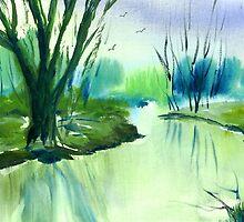 River Derwent in Winter by WaterGardens
