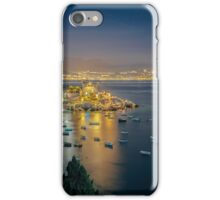 A tower on the Mediterranean Sea iPhone Case/Skin