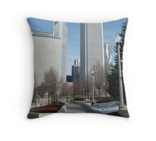 A short walk in the park Throw Pillow