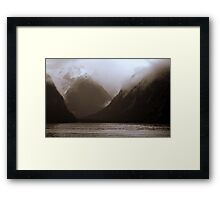 In the Hall of the Mountain King- Ominous Framed Print