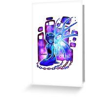 Steven Universe Lapis sitting Greeting Card