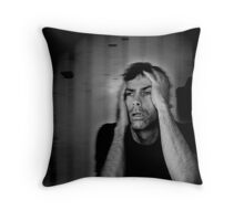 i fell from a great height #6 (The palpable symphony of sorrow) Throw Pillow