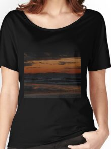 Waves at Night Women's Relaxed Fit T-Shirt