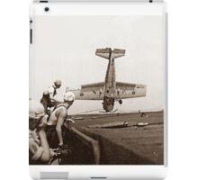 World War 2 Aircraft crash  iPad Case/Skin