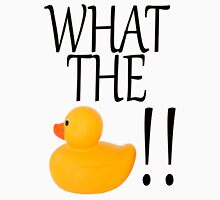 What the Duck!! Womens Fitted T-Shirt