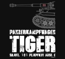 TIGER TANK by PANZER212
