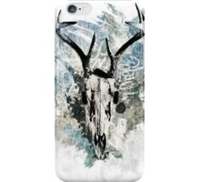 Stags Head II iPhone Case/Skin