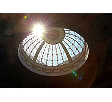 Berrington Hall Skydome Flare Photographic Print
