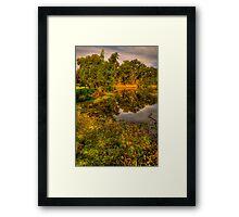 Billlabong Dreaming - Womga Wetlands, Albury, Australia - The HDR Experience Framed Print