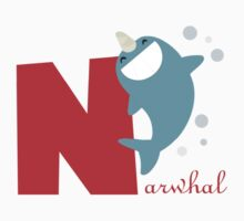 n for narwhal Kids Clothes