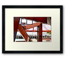 Rusty Box Framed Print
