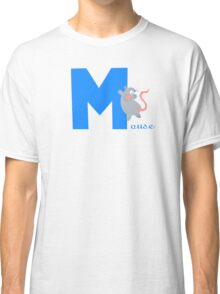m for mouse Classic T-Shirt