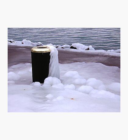 Frozen Bin  Photographic Print
