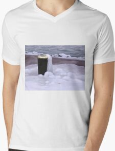 Frozen Bin  Mens V-Neck T-Shirt