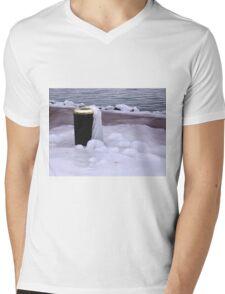 Frozen Bin  Mens V-Neck T-Shirt