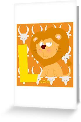 l for lion by alapapaju