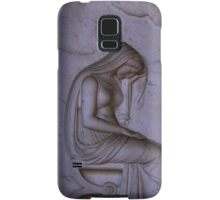 Sarcophagi sculpture another mourning lady  Samsung Galaxy Case/Skin