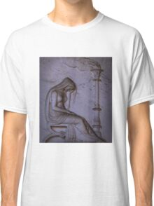 Sarcophagi sculpture another mourning lady  Classic T-Shirt