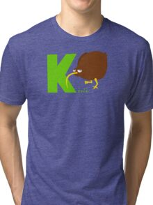 k for kiwi Tri-blend T-Shirt