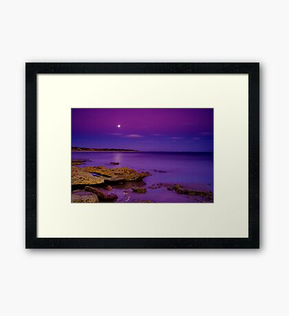 """Impossible Moonlight Encounter"" Framed Print"