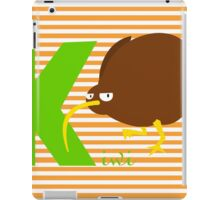 k for kiwi iPad Case/Skin