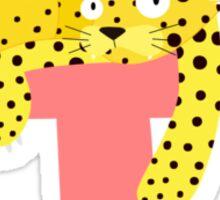 j for jaguar Sticker