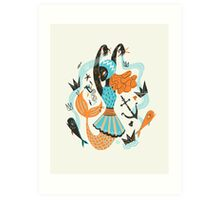 Go Fish Art Print