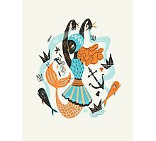 Go Fish Photographic Print