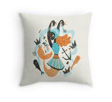Go Fish Throw Pillow