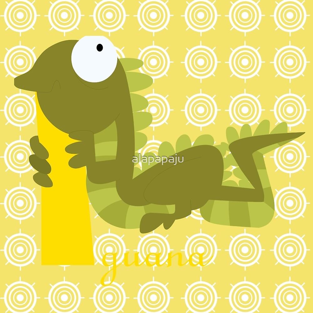 i for iguana by alapapaju