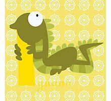 i for iguana Photographic Print