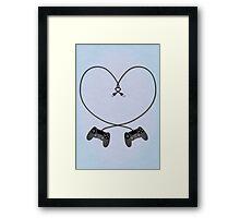 Playstation 4 Love Framed Print