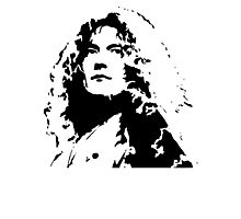 Led Zeppelin Robert Plant Photographic Print