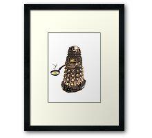 Eg..egg...s...? The Broken Dalek Framed Print