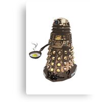Eg..egg...s...? The Broken Dalek Canvas Print