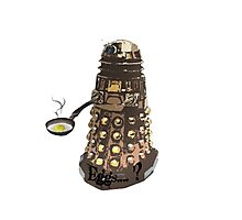 Eg..egg...s...? The Broken Dalek Photographic Print