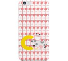 c for cow iPhone Case/Skin