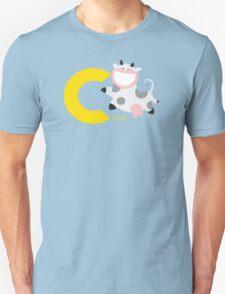 c for cow Unisex T-Shirt