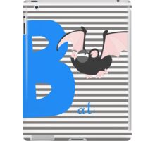 b for bat iPad Case/Skin