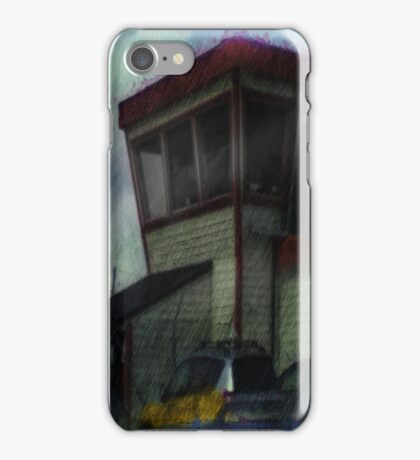 house and car photo iPhone Case/Skin