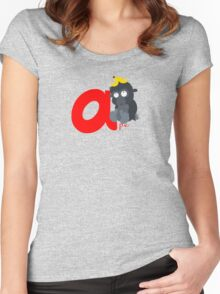 a for ape Women's Fitted Scoop T-Shirt