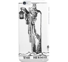 Black and White Hermit iPhone Case/Skin