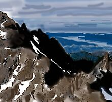 Mountain by Shakil
